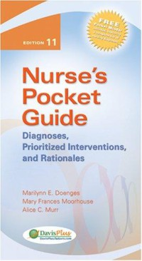 Image of Nurse's Pocket Guide : Diagnoses, Prioritized Interventions, and  Rationales